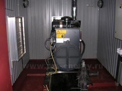 Дизель генератор в контейнере