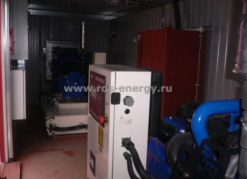 Блочно-модульная электростанция для резервного электроснабжения объектов связи