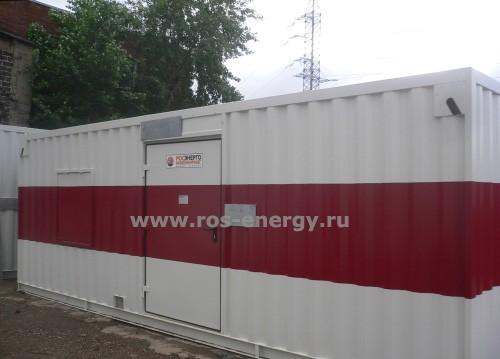Блочно-контейнерная электростанция