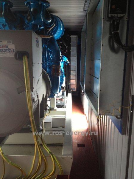 Блок-контейнерная дизельная электростанция
