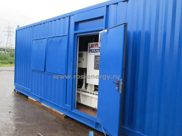 Дизель электростанции в контейнере (ДГУ)