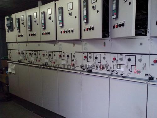 Главный распределительный щит ГРЩ на базе коммутационного оборудования Schneider Electric