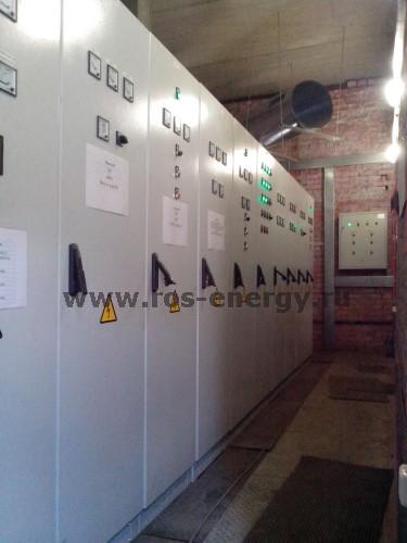 РУ-10,5 кВ в металлическом контейнере для распределительной трансформаторной подстанции