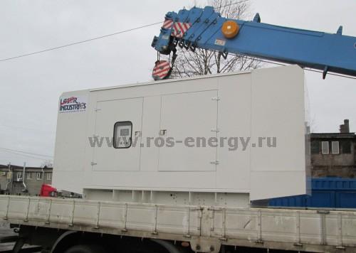 ДГУ Laser Industries 400 кВт для аварийного электроснабжения больницы