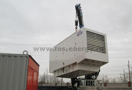 Дизельная электростанция Laser Industries LIP 500 во всепогодном кожухе