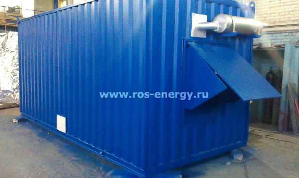 Контейнеры для дизельных электростанций FG Wilson