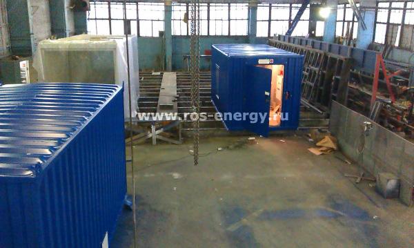 Производство контейнеров для дизельных электростанций