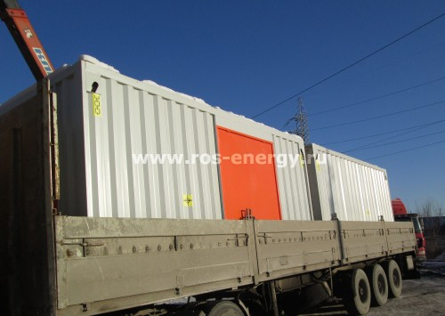 Контейнер для дизельного генератора