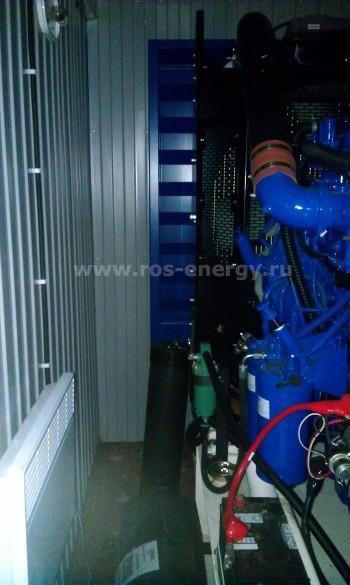 Дизель-генератор FG Wilson Р550-1 в контейнере Север