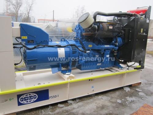 Дизельные генераторы FG Wilson Р550-1