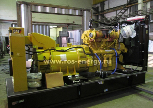 Дизельный генератор Caterpillar в контейнере Север