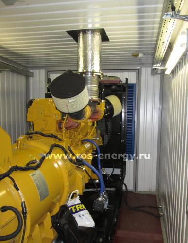 Дизель-генератор Caterpillar для энергообеспечения горнодобывающей компании в Карелии