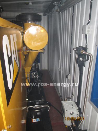 Контейнер Север для дизельной электростанции ДГУ Caterpillar