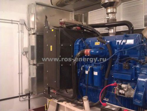 Дизельный генератор ДГУ FG Wilson для энергоснабжения бизнес-центра