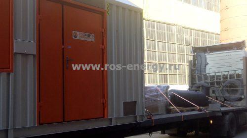 Контейнер для ДГУ 1100 кВт. Производство контейнеров - Росэнергоинжиниринг