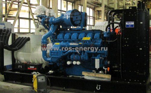 Дизельный генератор Laser Industries LIP1350 с двигателем Perkins 1100 кВт