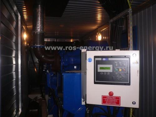 Дизельный генератор в блок-контейнере