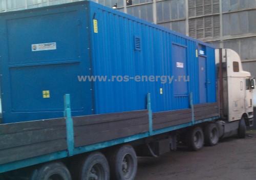 Блок-контейнер для дизельных генераторов FG Wilson