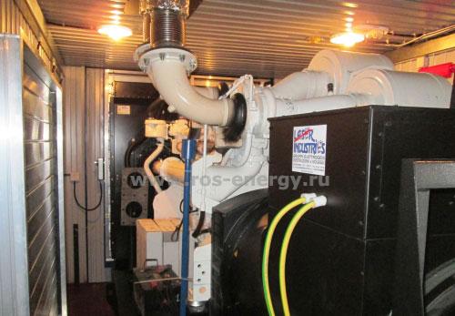 Блочно-контейнерная электростанция БКЭС на базе ДГУ LIP800 640 кВт