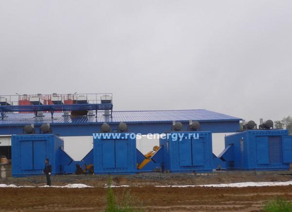 Дизельные электростанции ДГУ MTU MT1000 для центра обработки данных ЦОД