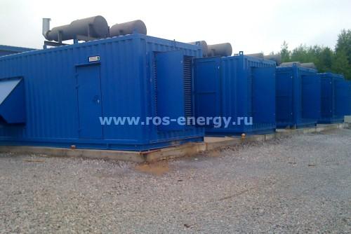 Блочно-контейнерные электростанции для центра обработки данных ЦОД