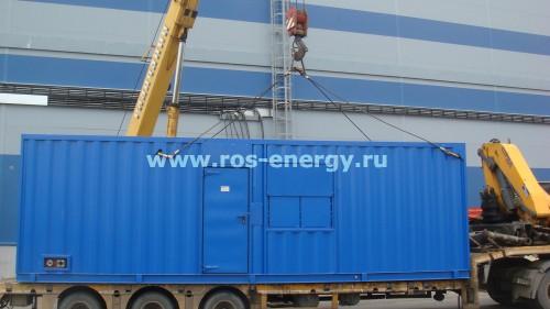блочно-контейнерные электростанции с дизель-генераторами Onis Visa P1050 с двигателем Perkins