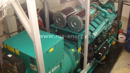 Дизельная электростанция камминз C1400D5 1000 кВт